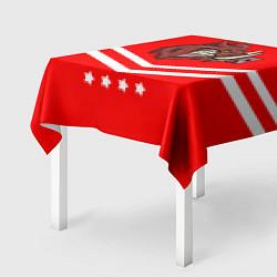Скатерть для стола Спартанский кабан цвета 3D — фото 2