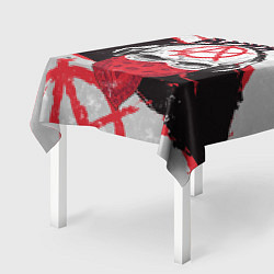 Скатерть для стола Ария: Анархия цвета 3D — фото 2