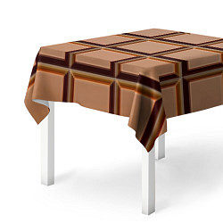 Скатерть для стола Шоколад цвета 3D — фото 2