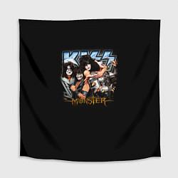 Скатерть для стола Kiss Monster цвета 3D — фото 1