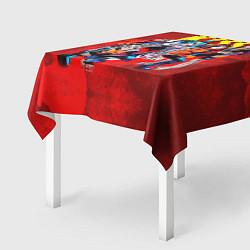 Скатерть для стола KISS: Hot Blood цвета 3D — фото 2