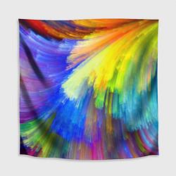 Скатерть для стола Абстракция красок цвета 3D — фото 1