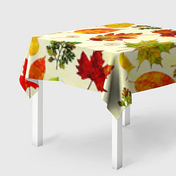 Скатерть для стола Осень цвета 3D — фото 2
