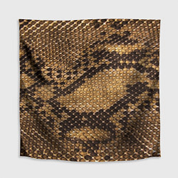 Скатерть для стола Змеиная кожа цвета 3D — фото 1