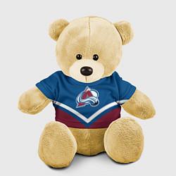 Игрушка-медвежонок NHL: Colorado Avalanche цвета 3D-желтый — фото 1