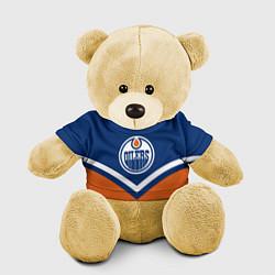 Игрушка-медвежонок NHL: Edmonton Oilers цвета 3D-желтый — фото 1