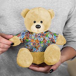 Игрушка-медвежонок Английская Премьер Лига цвета 3D-желтый — фото 2
