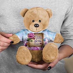 Игрушка-медвежонок Лучшая Сестра цвета 3D-коричневый — фото 2