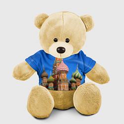 Игрушка-медвежонок Храм Василия Блаженного цвета 3D-желтый — фото 1