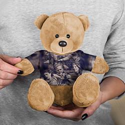 Игрушка-медвежонок Sons Of Anarchy цвета 3D-коричневый — фото 2