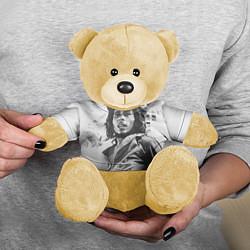Игрушка-медвежонок Молодой Боб Марли цвета 3D-желтый — фото 2