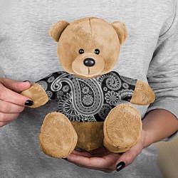 Игрушка-медвежонок Paisley цвета 3D-коричневый — фото 2