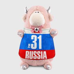 Игрушка-бычок Russia: from 31 цвета 3D-светло-розовый — фото 1