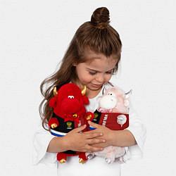 Игрушка-бычок Volgograd, Russia цвета 3D-красный — фото 2