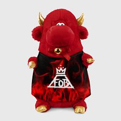 Игрушка-бычок Fall Out Boy: Red Flame цвета 3D-красный — фото 1