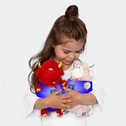 Игрушка-бычок Эвертон 3D цвета 3D-красный — фото 2