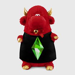 Игрушка-бычок The Sims Plumbob цвета 3D-красный — фото 1