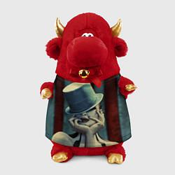 Игрушка-бычок American horror girl цвета 3D-красный — фото 1