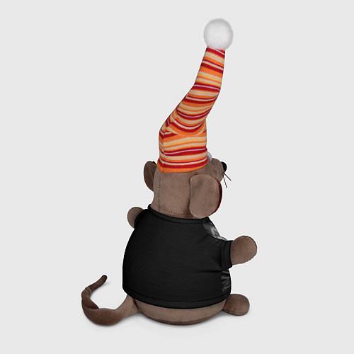 Игрушка-мышка Виктор Цой / 3D-Серый – фото 2