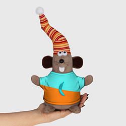 Игрушка-мышка Banana цвета 3D-серый — фото 1