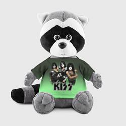 Игрушка-енот Kiss цвета 3D-серый — фото 1