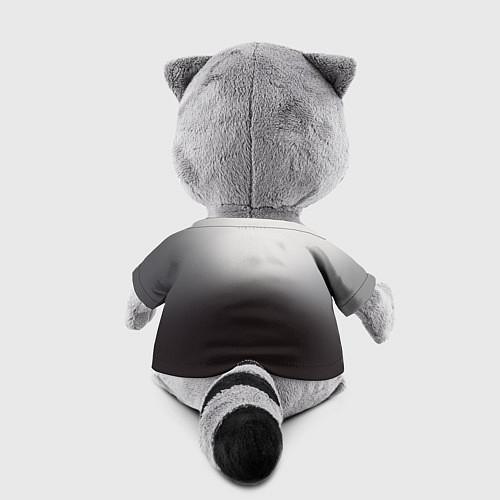 Игрушка-енот АлисА: Трасса E95 / 3D-Серый – фото 2