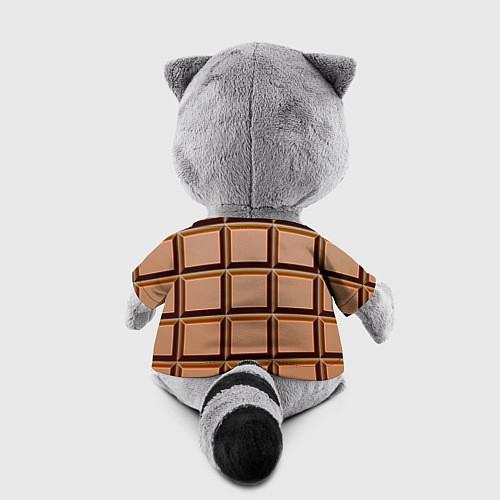 Игрушка-енот Шоколад / 3D-Серый – фото 2