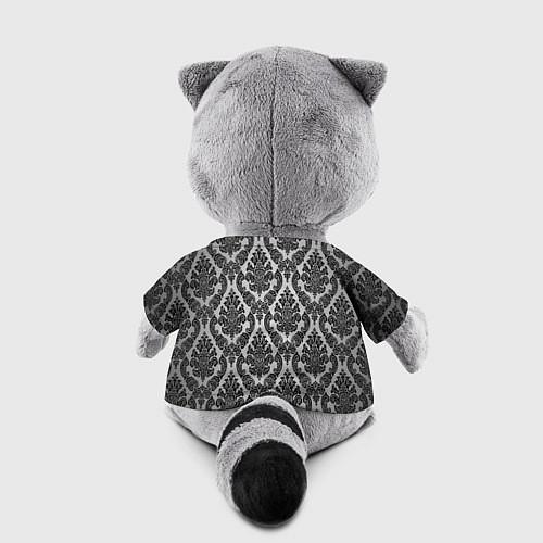 Игрушка-енот Гламурный узор / 3D-Серый – фото 2
