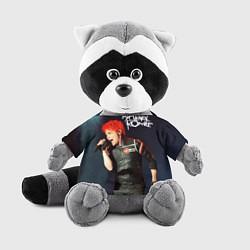 Игрушка-енот Gerard Way цвета 3D-серый — фото 1