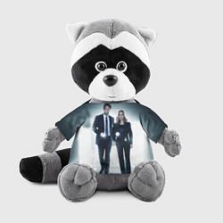 Игрушка-енот Малдер и Скалли цвета 3D-серый — фото 1