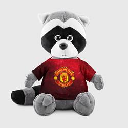 Игрушка-енот Манчестер Юнайтед цвета 3D-серый — фото 1