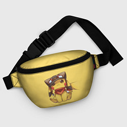 Поясная сумка Pikachu цвета 3D-принт — фото 2