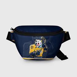 Поясная сумка Nashville Predators цвета 3D-принт — фото 1