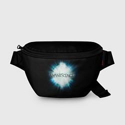 Поясная сумка Evanescence Explode цвета 3D-принт — фото 1