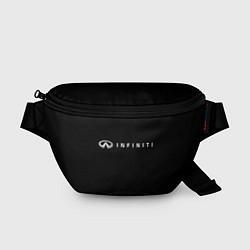 Поясная сумка Infiniti цвета 3D-принт — фото 1