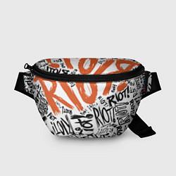 Поясная сумка Paramore: Riot цвета 3D-принт — фото 1