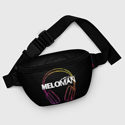 Поясная сумка Meloman цвета 3D-принт — фото 2