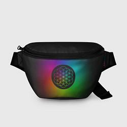 Поясная сумка Coldplay Colour цвета 3D-принт — фото 1