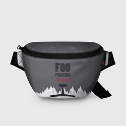 Поясная сумка Foo Fighters: Learn to fly цвета 3D-принт — фото 1