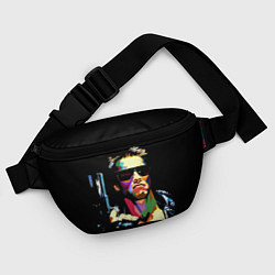 Поясная сумка Terminator Art цвета 3D-принт — фото 2