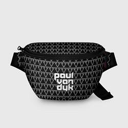 Поясная сумка Paul Van Dyk цвета 3D-принт — фото 1