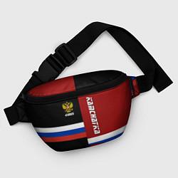Поясная сумка Kamchatka, Russia цвета 3D-принт — фото 2
