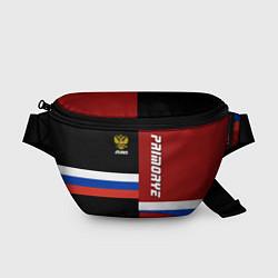 Поясная сумка Primorye, Russia цвета 3D-принт — фото 1