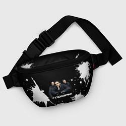 Поясная сумка Группа OOMPH! цвета 3D-принт — фото 2