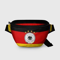 Поясная сумка Немецкий футбол цвета 3D-принт — фото 1