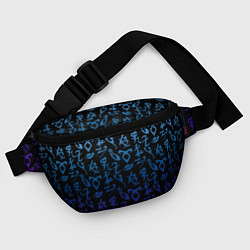 Поясная сумка Blue Runes цвета 3D — фото 2