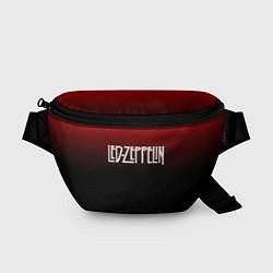Поясная сумка Led Zeppelin цвета 3D-принт — фото 1
