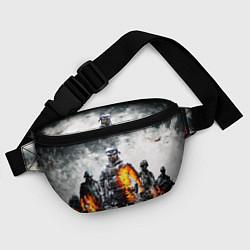 Поясная сумка Battlefield цвета 3D-принт — фото 2