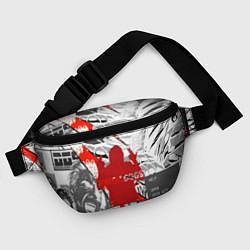Поясная сумка WATCH DOGS 2 цвета 3D-принт — фото 2
