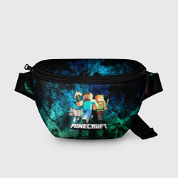 Поясная сумка Minecraft Майнкрафт цвета 3D — фото 1
